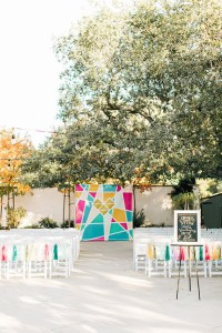 Colorful DIY wedding | Budget wedding | 100 Layer Cake