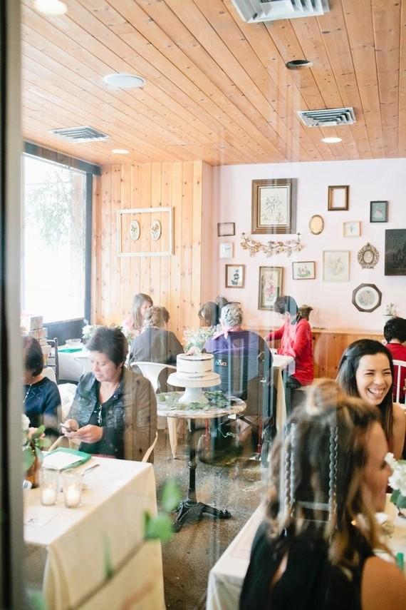 Garden baby shower  Restaurant baby shower  100 Layer Cakelet