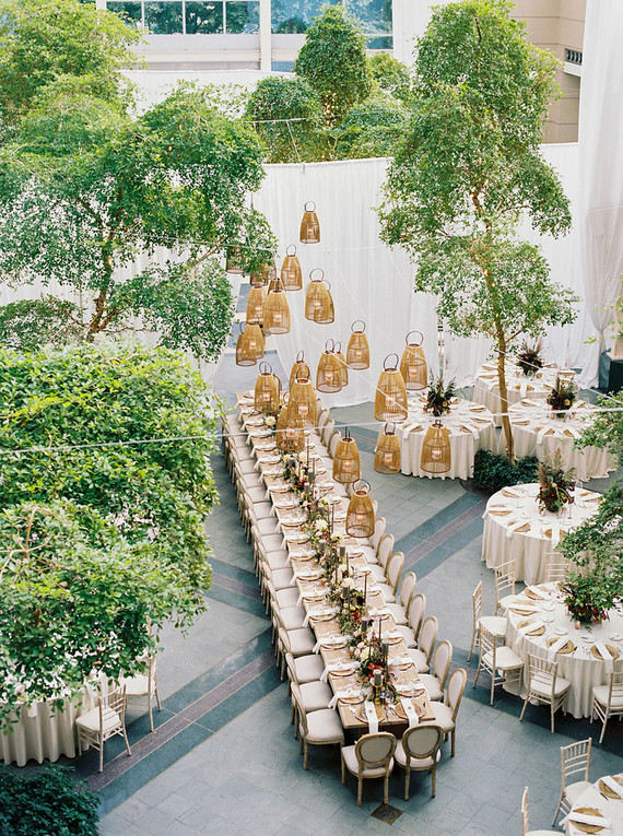 Ultra Elegance At The Wintergarden For This Festive Wedding In Rochester, Ny