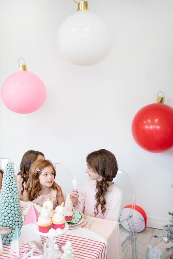 Winter Wonderland kids Christmas party