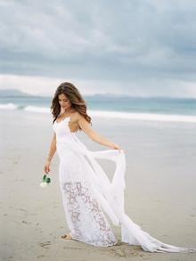 Graça ama Lace vestido de casamento branco