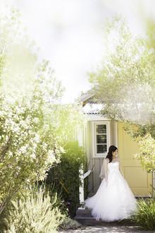 Queda noiva casamento da adega