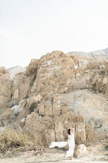 Desert nupcial retrato