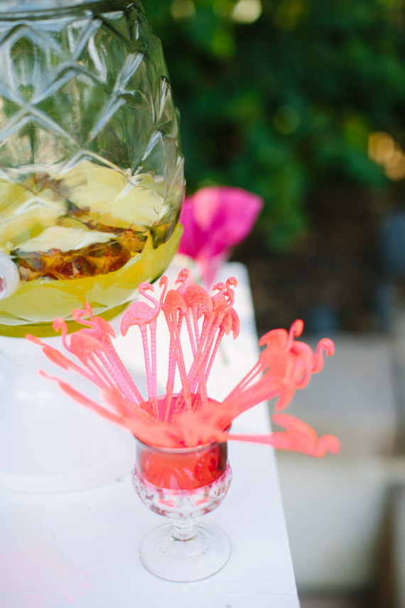 Flamingo cocktail stirrers  Wedding  Party Ideas  100 Layer Cake