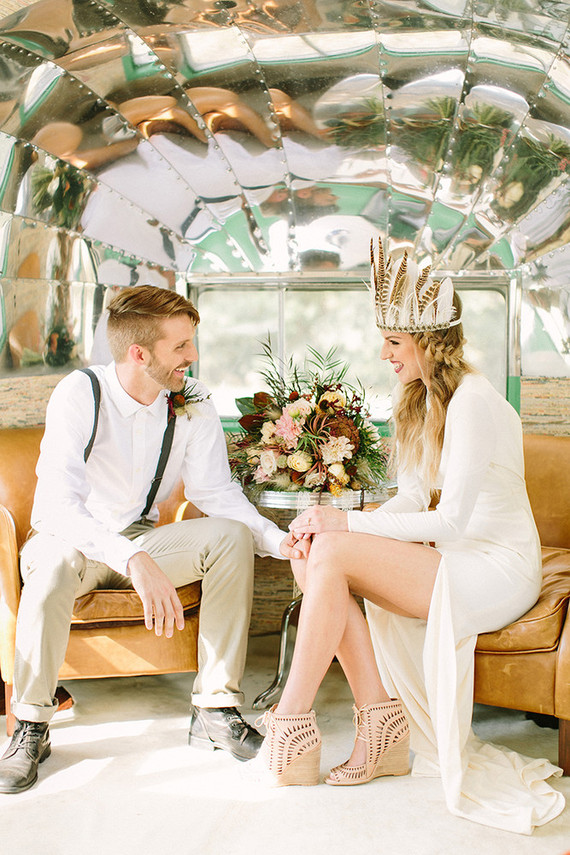 Nomadic Elopement Inspiration Wedding Amp Party Ideas