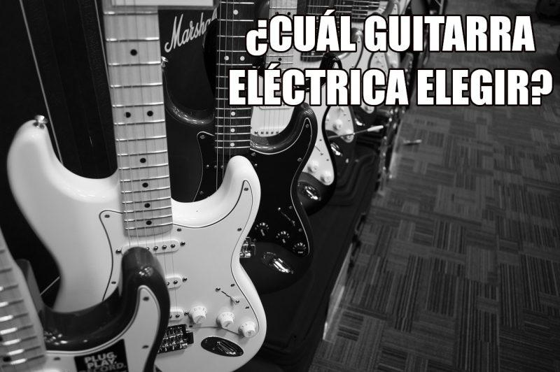¿Qué guitarra eléctrica elegir según el género a tocar?
