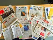 """sabato 4 luglio 2015 ore 18.30 """"Impariamo a fare il giornale?"""" Laboratorio di giornalismo per bambini Con Stefano Cipolla, Caposervizio grafico a la Repubblica. (6/10 anni)"""