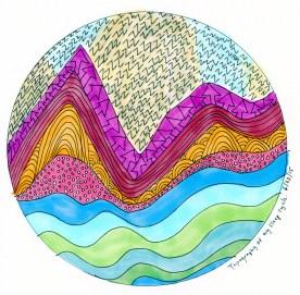 Topography of My Sleep Cycle