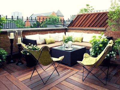 Pulire balcone o terrazzo a Roma  facilecon 100Mani srl