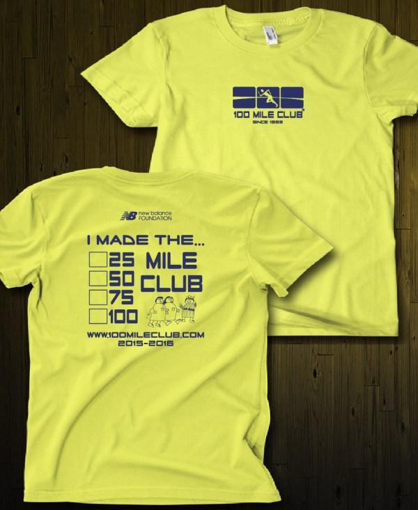 T-shirts 100 Mile Club