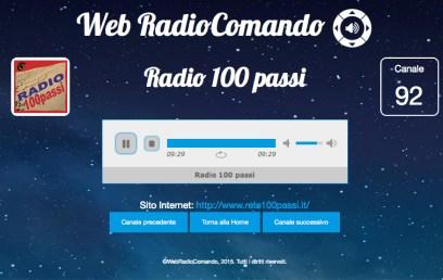 radiocomando 100 passi