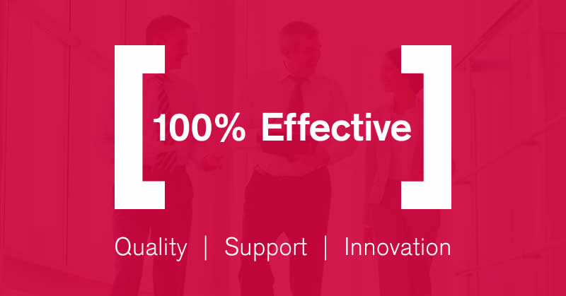 100% Effective  The Business Improvement Experts