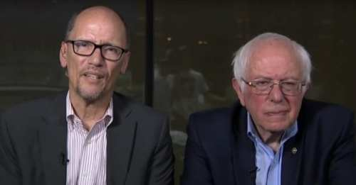 bernie sanders tom perez MSNBC interview