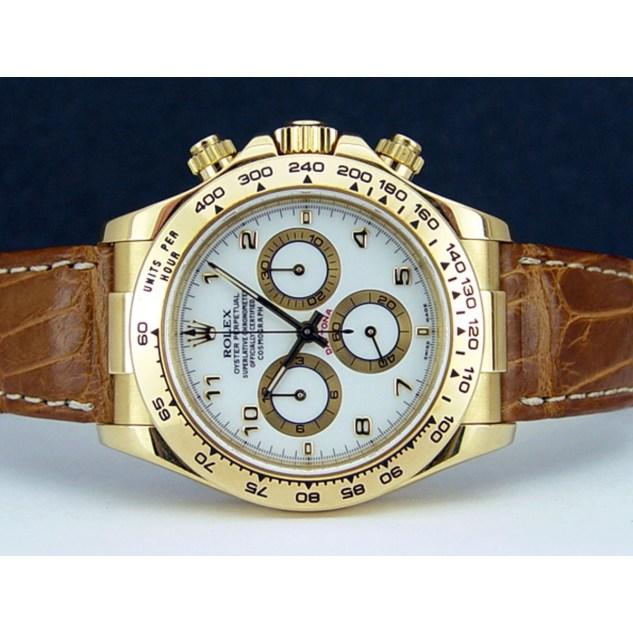 rolex-cosmograph-daytona-yellow-gold-white-arabic-tan-leather-strap-116518-rehaut_1