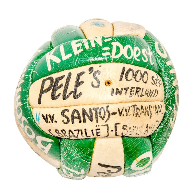 PELÉ JANUARY 28, 1971, 1,000TH GAME BALL-1