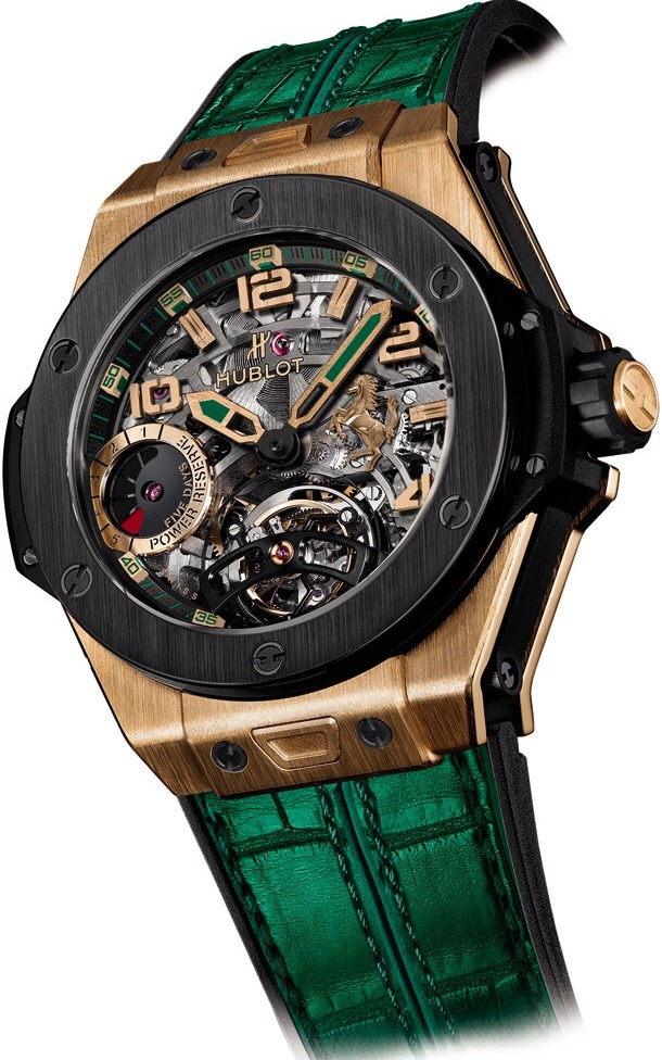 Hublot, Big Bang, Ferrari Tourbillon Mexico, 405.OM.0138.LR.GPM15, LuxWatch.ua