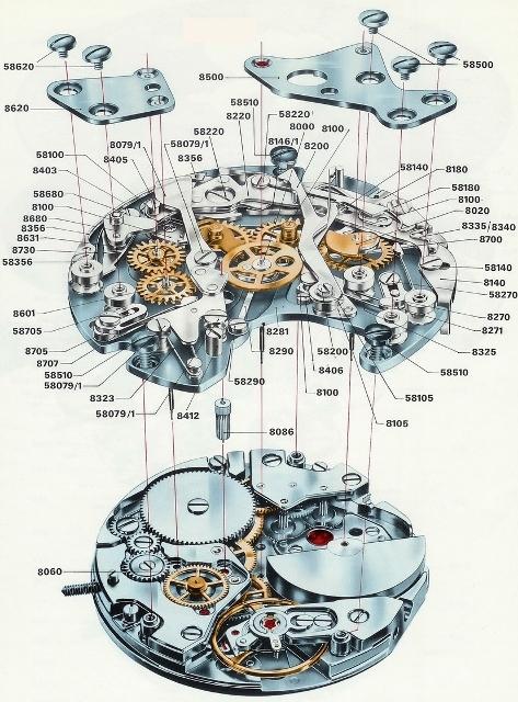 hamilton-chrono-matic-caliber-11-chronograph-movement-exploded-view1