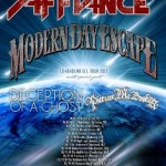 MODERN DAY ESCAPE and PICTURE ME BROKEN Join Forces for North American Tour