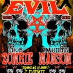 "ROB ZOMBIE AND MARILYN MANSON JOIN FORCES FOR ""TWINS OF EVIL"" U.S. AND EUROPEAN TOUR"