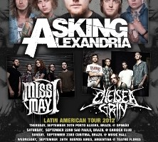 MISS MAY I: South American Tour with ASKING ALEXANDRIA and CHELSEA GRIN Kicks Off this Thursday, September 20th