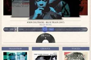 BLUE NOTE RECORDS LAUNCHES INNOVATIVE NEW SPOTIFY APP