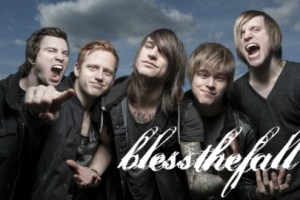"blessthefall premieres ""40 Days"" music video via Kerrang! Magazine"