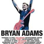 BRYAN ADAMS TO ROCK AUSTRALIAN ARENAS IN 2013