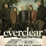 EVERCLEAR Australian Tour 2012 Starts this week – tickets selling fast!