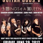 GUITAR GODS V – 3 KINGS and 1 QUEEN, Live Fremantle, WA, 29 June 2012