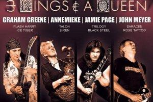 GUITAR GODS V – 3 KINGS and 1 QUEEN, Live Fremantle, WA, 29 June 2012
