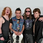 AUSSIE HARD ROCKERS OCTOBER RAGE ON THE ROAD IN THE USENTER STUDIO TO BEGIN DEMOS FOR NEW ALBUM