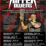 LIVE – TIM 'RIPPER' OWENS, Perth WA, 23 May 2012