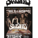 The Sword Featured As Cover Story Of The New Issue Of Hails & Horns Magazine