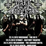 Metropolis Touring and Tombowler Presents DARK FUNERAL Australian Tour