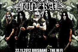 Metropolis Touring and Tombowler Presents DARK FUNERAL Australian Tour