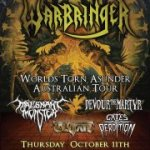 Live – WARBRINGER, Perth  WA – 11 October 2012