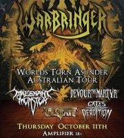 Live – WARBRINGER, Perth  WA – 11 October 2012