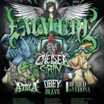 EMMURE ANNOUNCES THE MOSH LIVES EUROPEAN TOUR