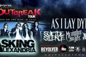 LIVE – MONSTER ENERGY OUTBREAK TOUR – Royal Oak, MI – December 3, 2012