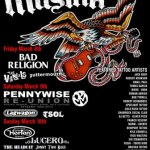 MUSINK 2013 ANNOUNCES ALL-STAR PUNK ROCK LINEUP FOR 6TH ANNUAL FESTIVAL