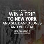 Win a Trip to See DANKO JONES and VOLBEAT in NYC from Spotify and Skullcandy!