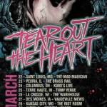 TEAR OUT THE HEART ANNOUNCES MIDWEST TOUR