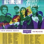 "PIERCE THE VEIL KICK OFF CO-HEADLINING ""SPRING FEVER TOUR"" WITH ALL TIME LOW TODAY!"