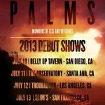 "Palms Share ""Patagonia"" Via Pitchfork, Announce West Coast Tour Dates"