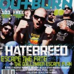 Hatebreed Featured On The New Cover Of Outburn Magazine and Premiere New Music Video Exclusively On VEVO