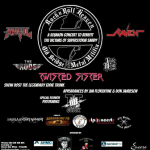 This Saturday, May 11th – Donate to Victims of Superstorm Sandy + Win an Autographed METALLICA Guitar and Drumhead, a SLAYER Bass Featuring Signatures from the Entire Band and More at the ROCK N' ROLL HEAVEN and OLD BRIDGE METAL MILITIA Reunion Concert and Fundraiser