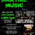 For Immediate Release: SAINT DIABLO to perform at Martial Music 2013