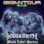 LIVE – Gigantour featuring Megadeth and Black Label Society, July 8, 2013