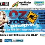 The inaugural OZ ROCK BUSSELTON line-up announced