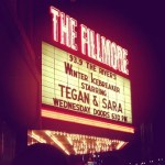 LIVE: TEGAN AND SARA – December 11, 2013, Detroit, MI @ The Fillmore